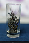 Shen Tai Cha brewed glass of water