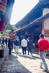 Streets and shops of old Lijiang