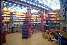 Boutique de puerh <span class='translation'>(Pu Er tea)</span> à Lijiang
