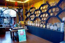 Boutique de thé à Lijiang