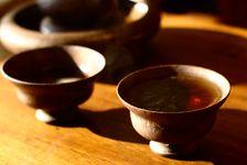 Tasses de thé puerh
