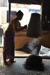 Forme de thé puerh <span class='translation'>(Pu Er tea)</span> produit en Birmanie