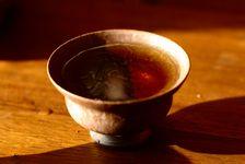 Liqueur d'un puerh <span class='translation'>(Pu Er tea)</span> des années 90