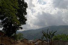 Nanpo village Lahu sur les hauteurs de Bing Dao