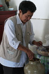 Le Suan Cha thé ethnique Bulang