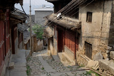 Sur la route du thé de Da Xue Shan à Xiaguan