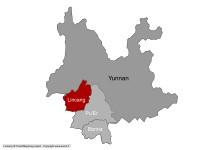 Lincang au sein du Yunnan