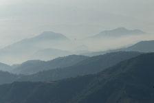 Paysage de Da Xue Shan