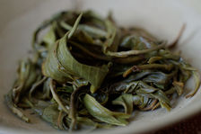 Leaves puerh <span class='translation'>(Pu Er tea)</span> premiere infused