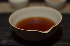 Liqueur d'un puerh <span class='translation'>(Pu Er tea)</span> agé