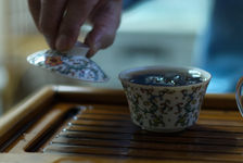 tea tasting with Deng Shi Hai