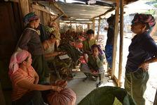 maocha Purchase in a village in Phongsaly