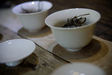 Short and repeated infusions inspired gong fu cha