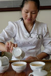 Example of tea tasting in Yunnan