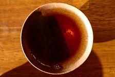 Liqueur d'un puerh <span class='translation'>(Pu Er tea)</span> affiné