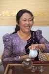 Vendeuse et producteur de thé (Zhaijichafang) à Kunming