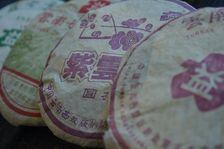 Nouveaux emballages Menghai Tea Factory des années 2000