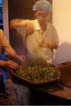Aération des feuilles suivant le Sha Qing