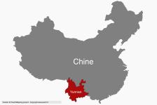 Le Yunnan par rapport à la Chine