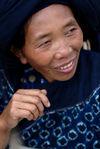 Femme Bulang à Shuangjiang, Lincang