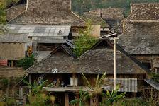 Village Bulang à Bulang Shan