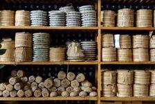 Collections de puerh <span class='translation'>(Pu Er tea)</span> stockés en vus de leur vieillissement