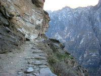 Fragment de la route du thé au Nord du Yunnan