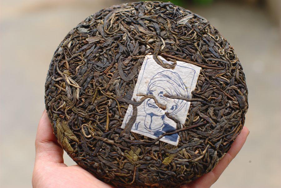 WU YI MOUNTAIN BAMBOO RAW PU-ERH TEA