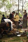 Rituals in the forest not Kucong loins of Shan Zhai Kucong