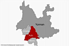 Pu'Er au sein du Yunnan