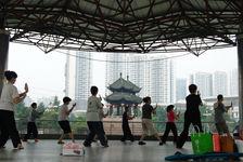 Tai Qi dans les rues de Chengdu