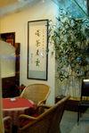 Salon de thé dans le Yunnan