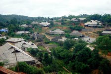Village de Lao Banzhang, Bulang Shan
