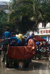 Fete de l'eau à Shuangjiang, Lincang
