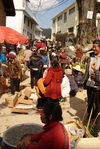 Market before the new year in the region of Lincang