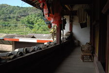 Gallery of a traditional house in Yi Wu, Xishuangbanna