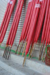 Big fight incense sold on the street in Yunnan