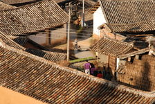 Traditional Village in Yunnan Lincang