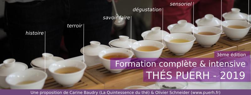 Formation complète aux thés puerh Paris 2018