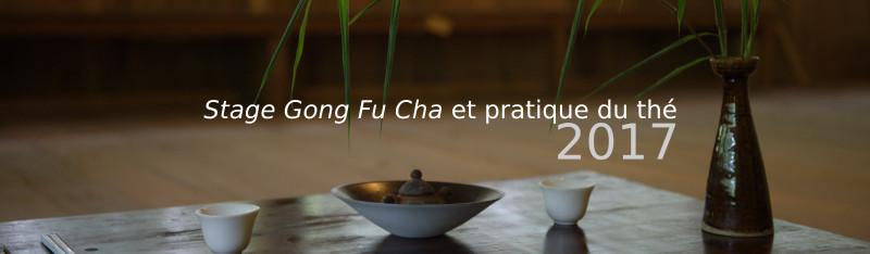 Stage Gong Fu Cha et pratique du thé Thailande 2017
