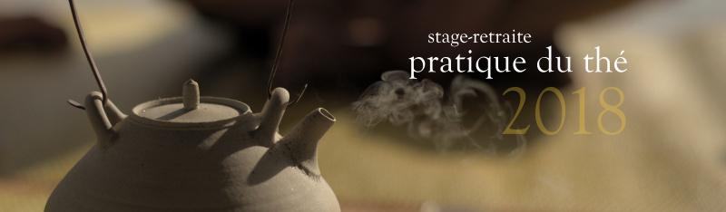 Stage Gong Fu Cha et pratique du thé Thailande 2018